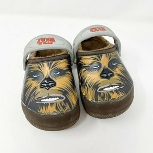 Crocs Chewbacca Star Wars Lined Clogs Toddler 7
